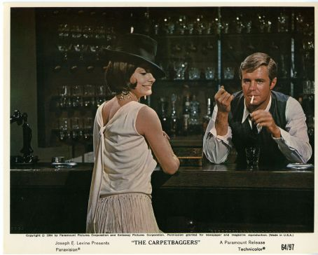 Elizabeth Ashley and George Peppard