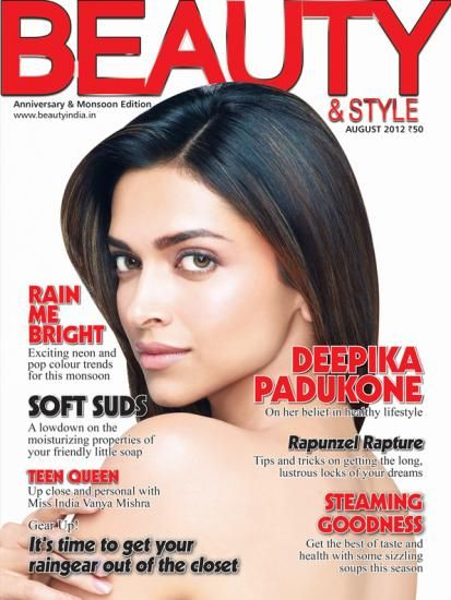 Deepika Padukone - Beauty And Style Magazine Pictorial [India] (August 2012)