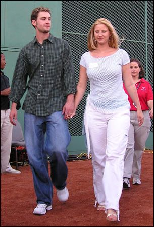 Bronson Arroyo Bronson and ex-wife Aimee