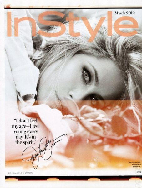 Jennifer Aniston - InStyle Magazine Pictorial [United States] (March 2012)