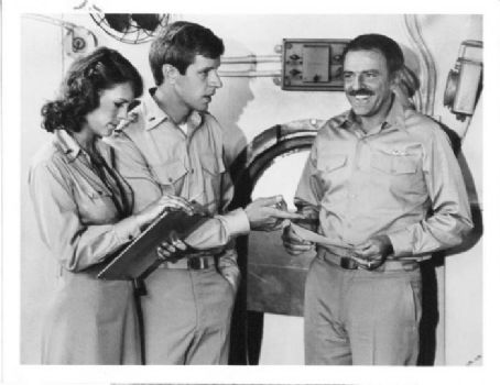 Richard Gilliland Jamie Lee Curtis,  and John Astin  Taken