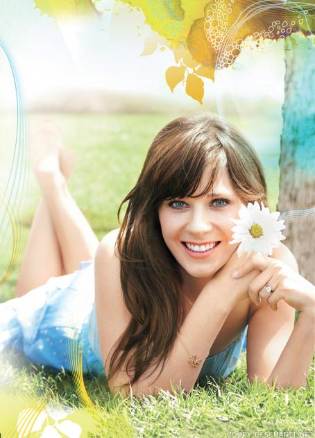 Zooey Deschanel - Self Magazine Photoshoot, August 2009