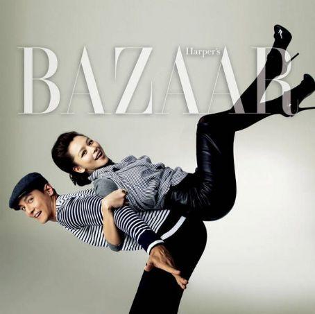 Daniel Wu Vivian Hsu &  Harper's Bazaar China February 2010