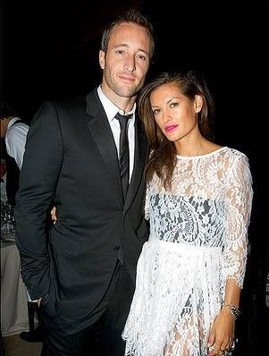 Malia Jones Alex O'Loughlin and