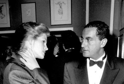 Julia Roberts and Dodi Fayed