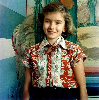 Martha Stewart  as a Child