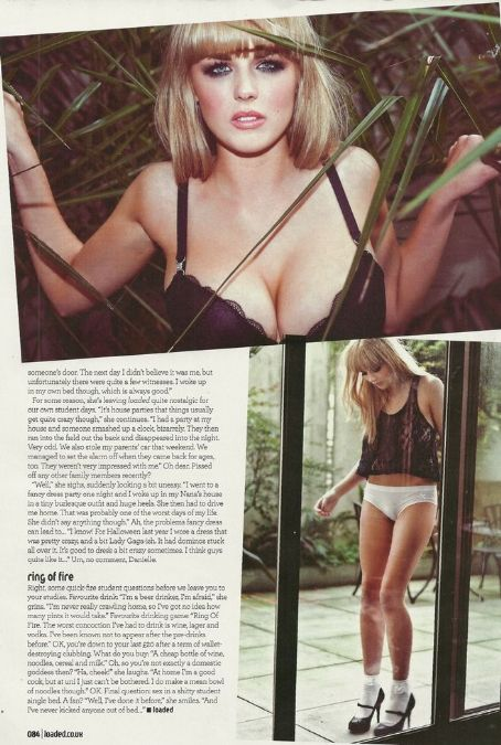 Danielle Sharp Hot Babes  Britain's Sexiest Student