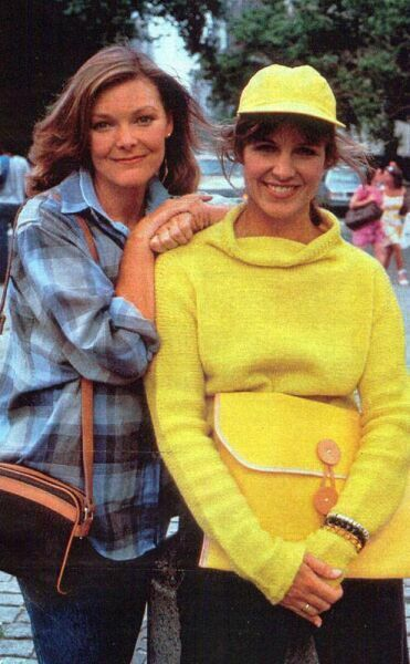 Jane Curtin  & Susan St James