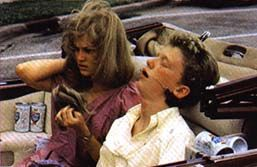 Haviland Morris  and Anthony Michael Hall 16 Candles