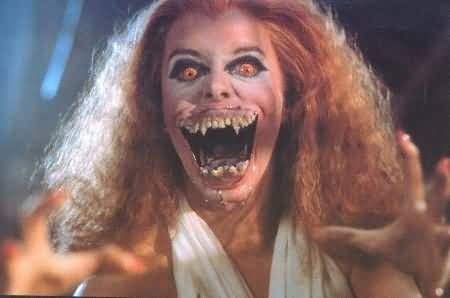 Amanda Bearse  as a Vampire in Fright Night