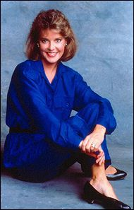 Amanda Bearse  in Blue