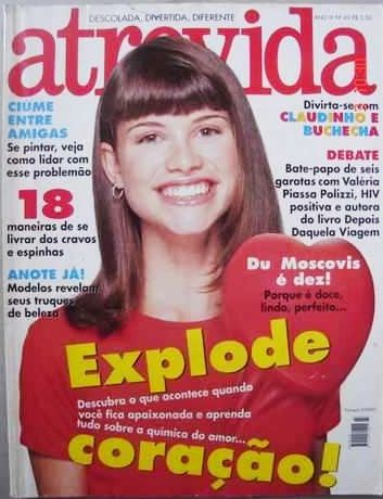 Aline Moraes - Atrevida Magazine Cover [Brazil] (March 1998)