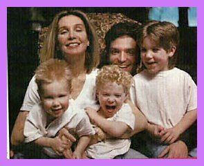 Cynthia Rhodes , Richard Marx and family