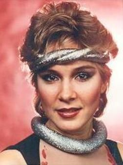 Cynthia Rhodes  in the 1980's