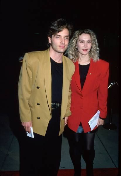 Cynthia Rhodes  and husband Richard Marx