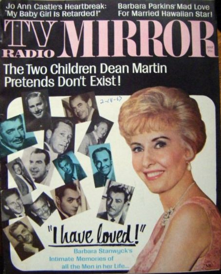 Barbara Stanwyck - TV Radio Mirror Magazine [United States] (March 1967)