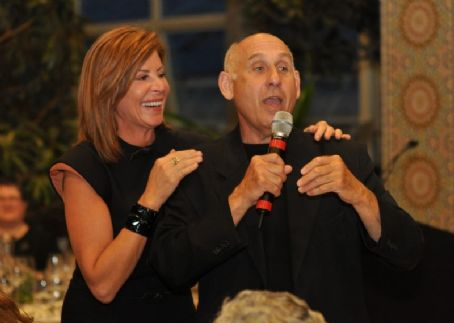 Kathy Brock  With Auctioneer Jeff Brown