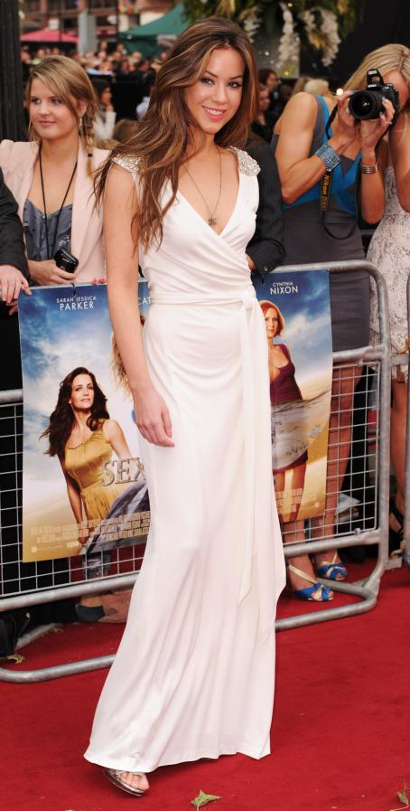Roxanne McKee - UK Premiere Of 'Sex And The City 2' At Odeon Leicester Square On May 27, 2010 In London