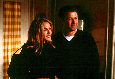 State and Main Sarah Jessica Parker and Alec Baldwin in Fine Line's  - 2000