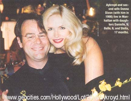 Donna Dixon  and Husband Dan Akroyd