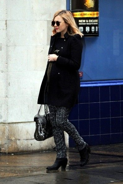 Fearne Cotton: walk to work at Radio 1 in London
