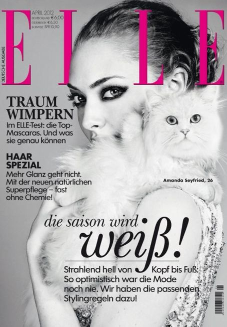 Amanda Seyfried - Elle Magazine Cover [Germany] (April 2012)