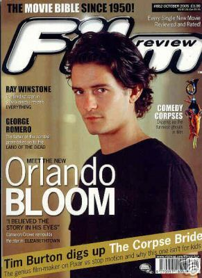Orlando Bloom - Film Review Magazine [United Kingdom] (October 2005)
