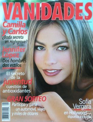 Sofía Vergara - Vanidades Magazine Cover [Mexico] (April 2002)