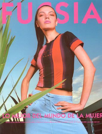 Maria Adelaida Puerta - OTHER Magazine Cover [Colombia] (August 2003)
