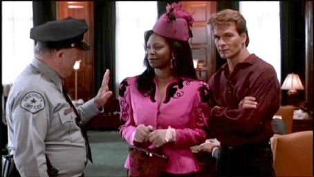 Whoopi Goldberg Patrick Swayze As Sam Wheat And  As Oda Mae Brown In Ghost (1990)