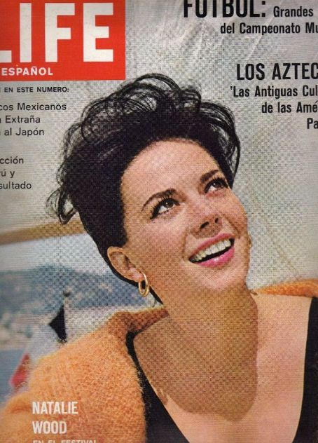 Natalie Wood - Life Magazine Cover [Spain] (July 1962)