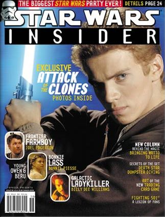 Hayden Christensen - Star Wars Insider Magazine [United States] (March 2002)