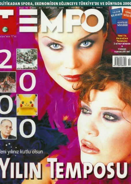 Demet Sener, Ebru Salli - Tempo Magazine Cover [Turkey] (20 December 2000)
