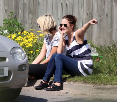 Caroline Flack 's Car Trouble In London