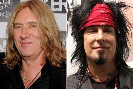 DEF LEPPARD'S JOE ELLIOTT LEADS BIRTHDAY SERENADE FOR MOTLEY CRUE'S NIKKI SIXX