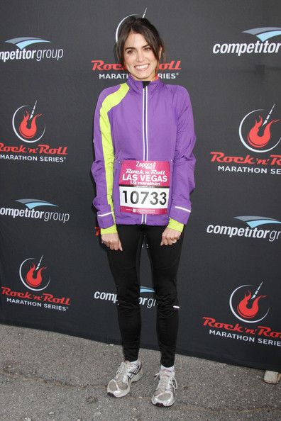 Nikki Reed: at the Zappos.com Rock 'n Roll Las Vegas Marathon held on the Las Vegas Strip in Las Vegas