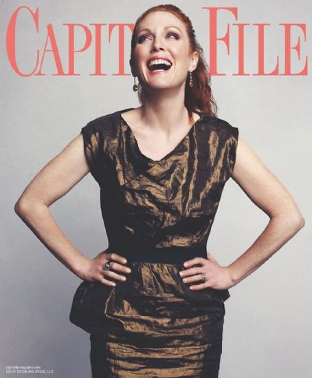 Julianne Moore - Capitol File Magazine Cover [United States] (March 2012)
