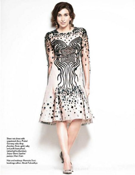 Karishma Kapoor  Marie Claire India June 2012