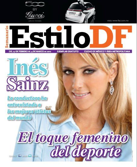 Estilo Df Magazine Cover [Mexico] (27 February 2012)