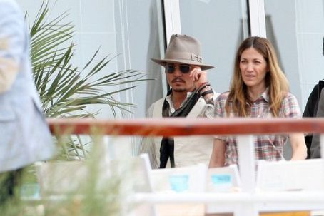 Robin Baum  and Johnny Depp 1