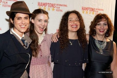 2009, October 9th - Director Francesca Gregorini, actress Rooney Mara, director Tatiana von Furstenberg and casting director Lina Todd arrive at the Breakthrough Performers reception as part of the 17th annual Hamptons International Film Festival at the G