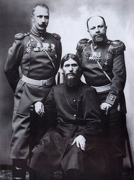 Grigory Rasputin , Major General Putyatin and Colonel Loman