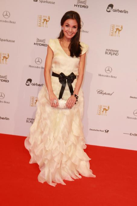 Nadine Warmuth - Bambi 2010 - 2010-11-11