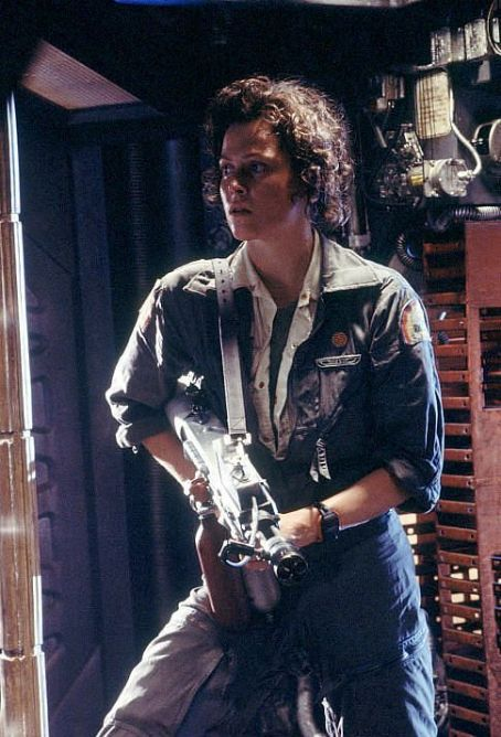 Alien Sigourney Weaver stars as Ripley in Ridley Scott's  - 1979