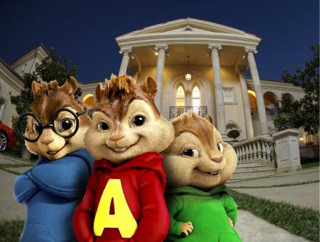 Alvin and the Chipmunks ALVIN AND THE CHIPMUNKS, a global phenomenon to generations of fans, becomes a live action/CGI motion picture event with a contemporary comic sensibility. (In photo from left to right are Simon, Alvin and Theodore.) Photo credit: Courtesy of 20th Century