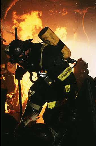 William Baldwin A scene from Universal Studios Home Entertainment's Backdraft - 1991