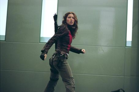 "Abigail Whistler Jessica Biel stars as Whistler's daughter ""Abigail"" in final chapter of New Line Cinema's BLADE franchise, BLADE: TRINITY."