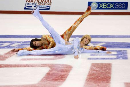 Will Ferrell as Chazz and Jon Heder as Jimmy in DreamWorks SKG and Paramount Pictures' Blades of Glory - 2007