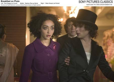 Ruth Negga Left:  as Charlie; Middle: Stephen Rea as Bertie; Right: Cillian Murphy as Patrick; All photos by Patrick Redmond/courtesy Sony Pictures Classics, all rights reserved.