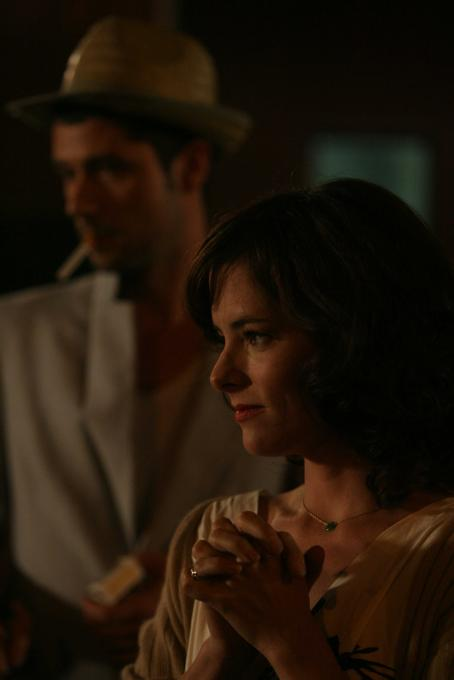 Melvil Poupaud  and Parker Posey in BROKEN ENGLISH, a Magnolia Pictures release. Photo courtesy of Magnolia Pictures.